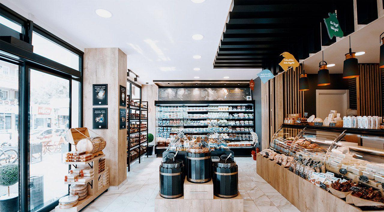 Gourmet Delicatessen Design